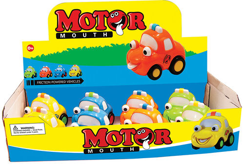 Friction Powered Motor Mouth Cars