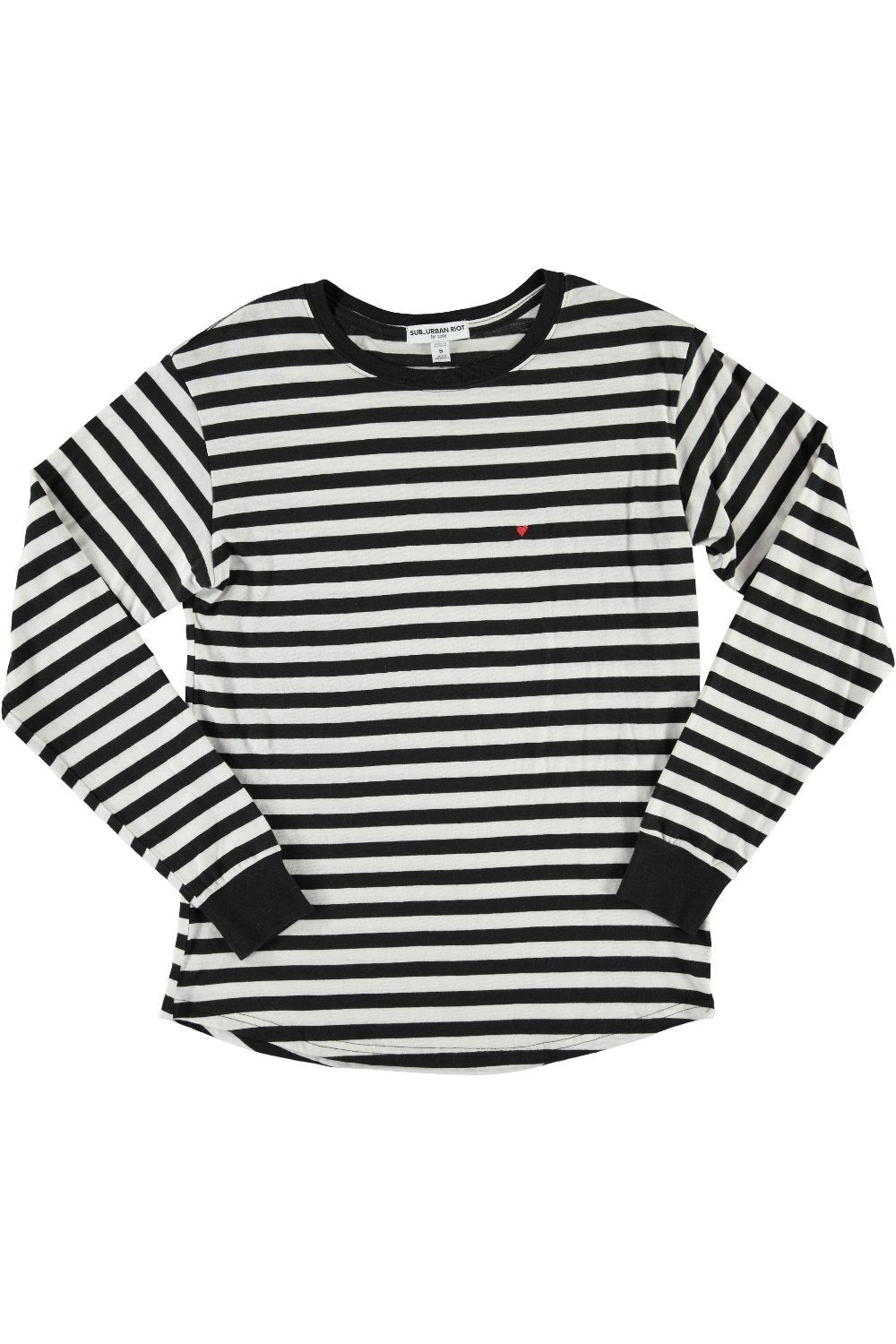 CHELSEA STRIPE ATHENA L/S YOUTH TEE