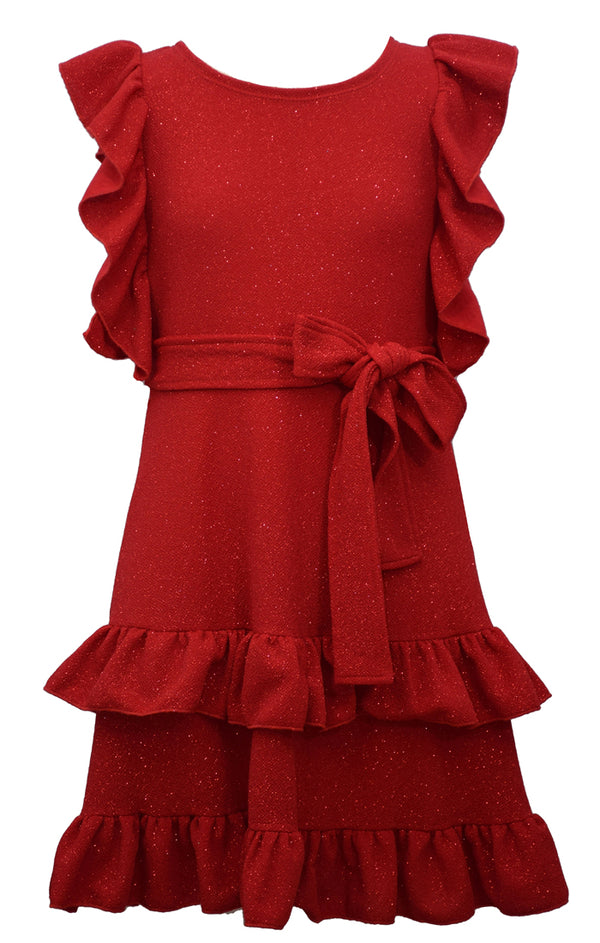 RENEE RUFFLE DRESS