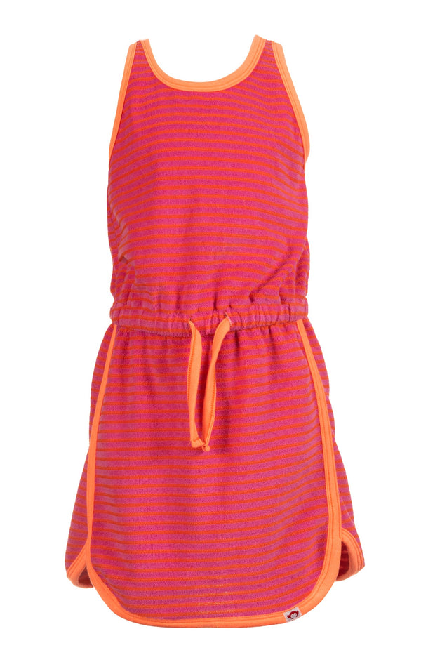 Mia Dress - Sunrise Stripe