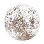 ROSE GOLD CONFETTI BEACH BALL