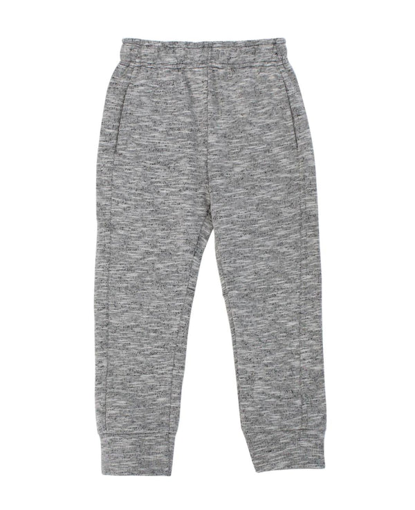 Grey Slub Terry Sweat pant