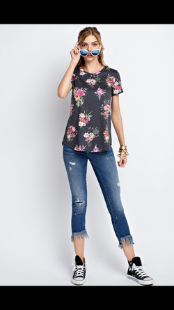 Flirty Girl Floral Top