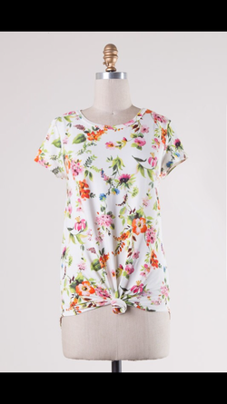 All The Florals Top