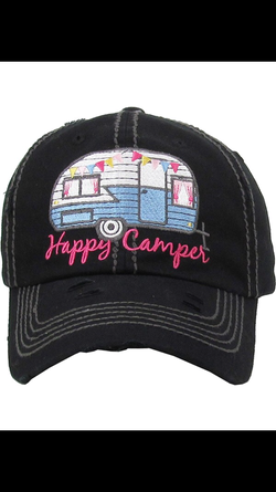 Happy Camper- Black