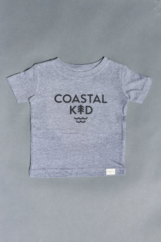 COASTAL KID 'Sea To Sky' Tee (GRY)