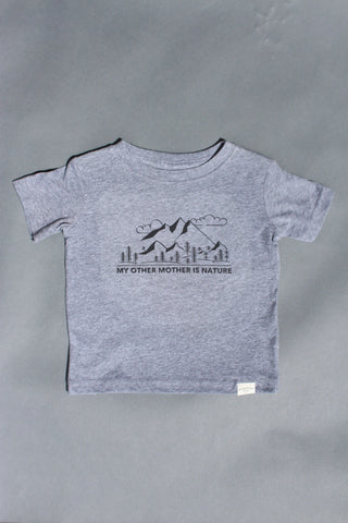 COASTAL KID 'Mother Nature' Tee (GRY)