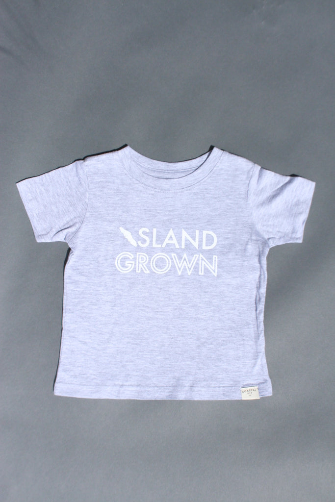 COASTAL KID 'Island Grown' Tee (GRY)