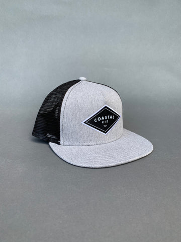COASTAL KID Heather Grey Snapback