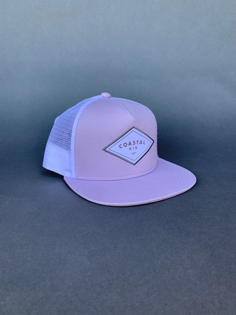 COASTAL KID Lilac Trucker
