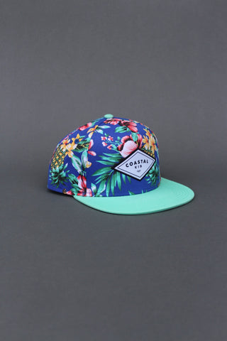 COASTAL KID Hawaiian Blues Snapback