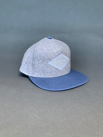 COASTAL KID Grey/Blue Snapback