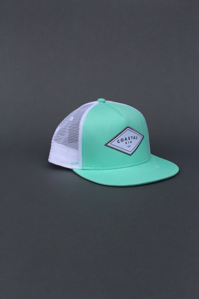COASTAL KID Seafoam Trucker