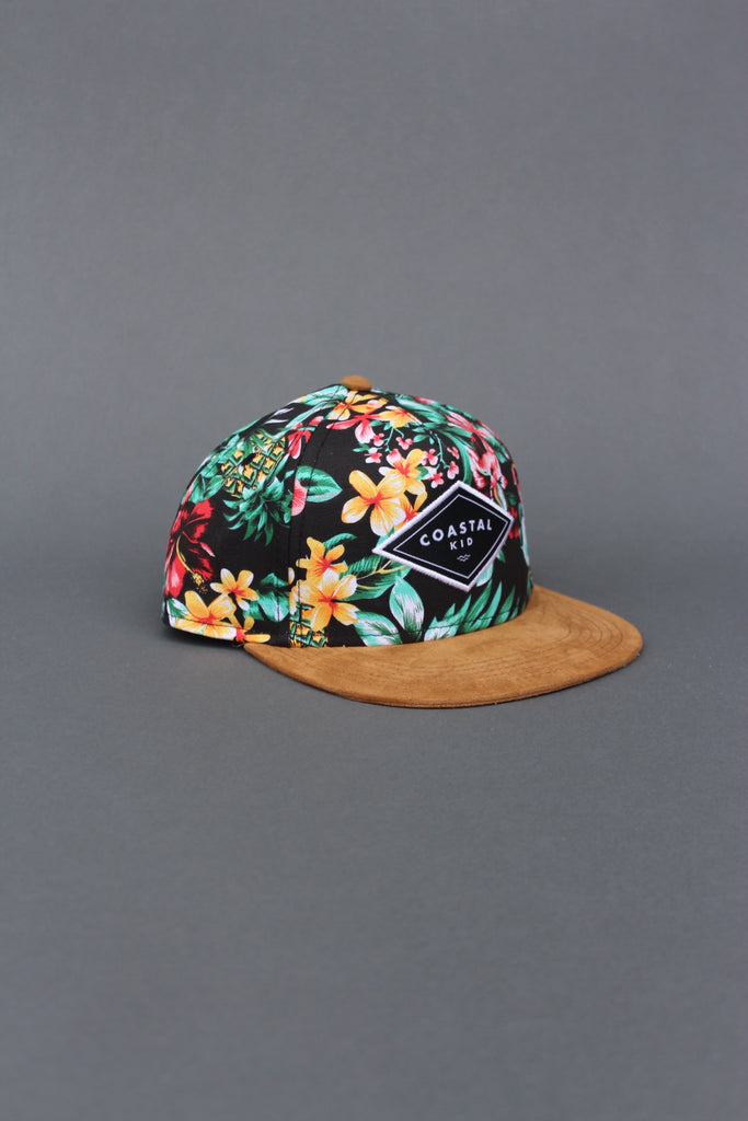 COASTAL KID Hawaiian Snapback