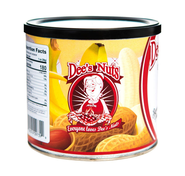 Banana Pudding Gourmet  Peanuts 10 Oz Can