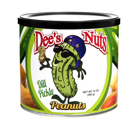 Dill Pickle Gourmet Peanuts 10 Oz Can