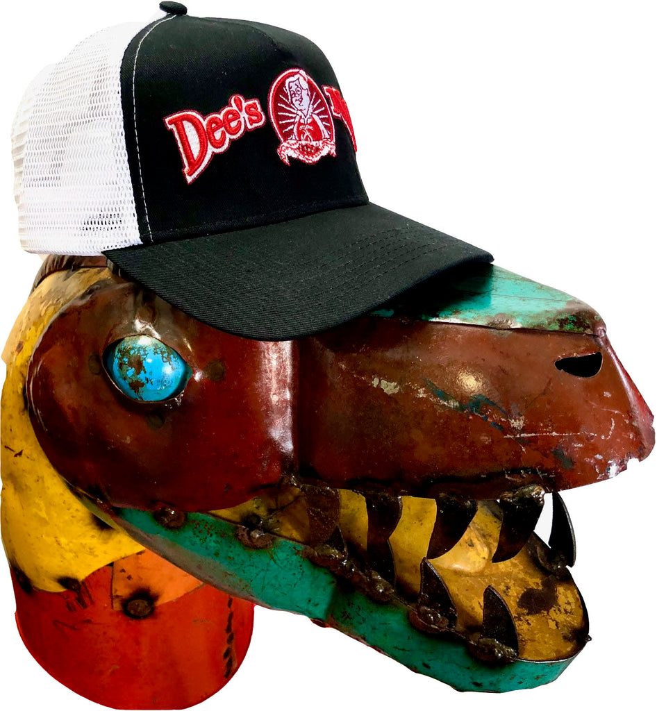 Snapback Hat with 3D Dee's Nuts Logo