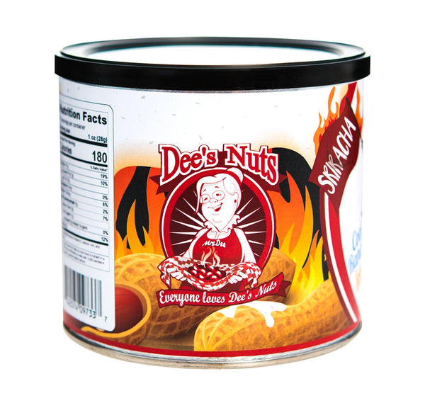 Cool Ranch Hot Sriracha Gourmet Peanuts 10 Oz Can