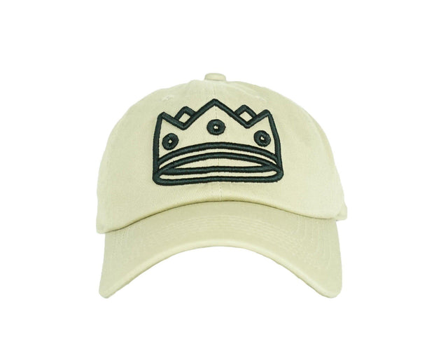 Dad Hat Beige/Black Crown