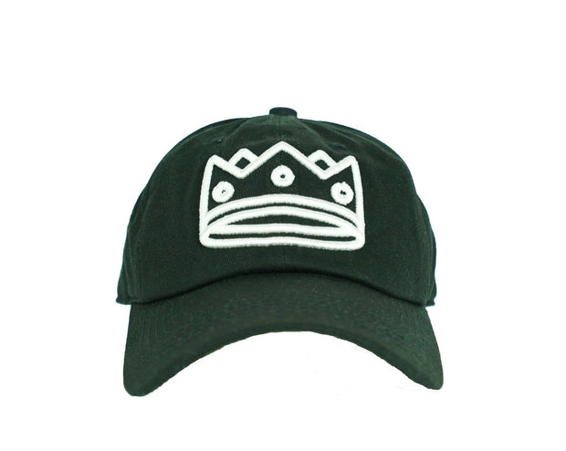 Dad Hat Black/White Crown
