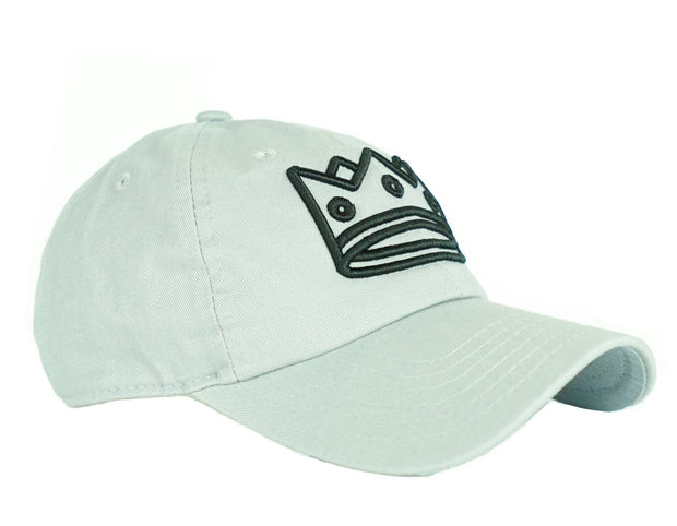 Dad Hat Grey/Black Crown