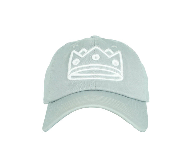 Dad Hat Grey/White Crown
