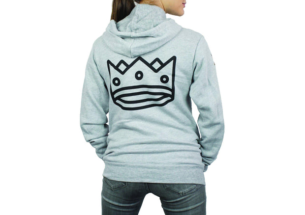 Unisex Hoodie in Heather Grey