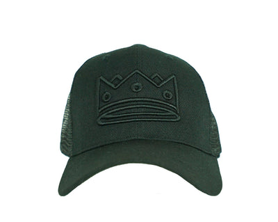 Trucker Black/Black Crown