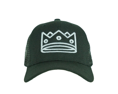 Trucker Black/Grey Crown