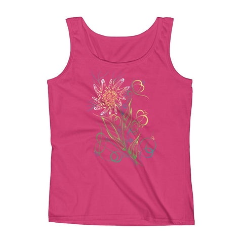 """Daisy Gone Wild"" Tank Top"