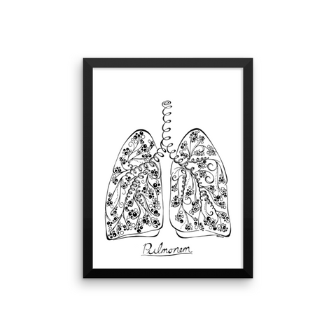 """Breathe Easy"" Art Print"