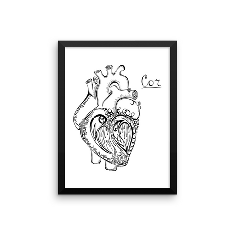 """My Heart Will Go On"" Art Print"
