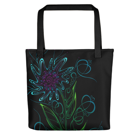 """Daisy Gone Wild"" Tote Bag"