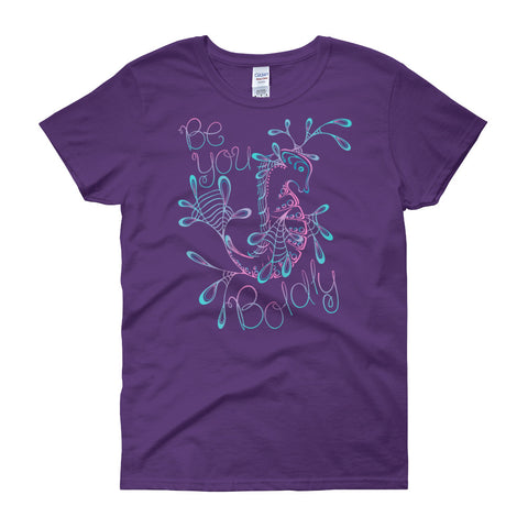 """Be You Boldly"" Cotton Tee"