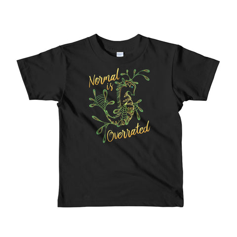 """Normal is Overrated"" Kids Tee"