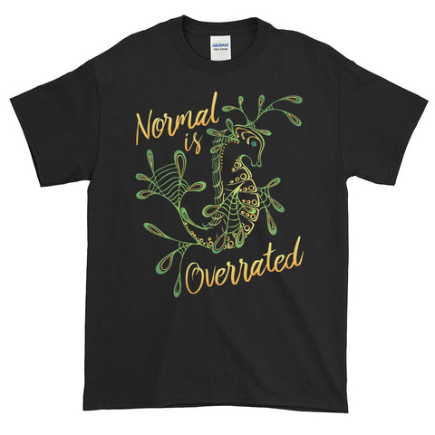 """Normal is Overrated"" Cotton Tee"