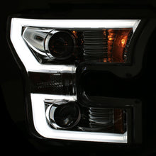 Anzo | 111348 | Projector Style Chrome Headlight | Ford F150 2015-Up
