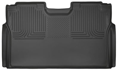 Husky | 19371 | Weather Beater Rear Floor Liners Ford 2015-2017 Ford F150 Super Crew and Super Cab - Free