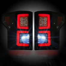 Recon Smoked Tail Lights | Ford F150 2015-2017 264268BK