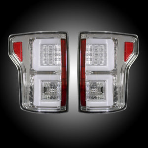 Recon Clear Tail Lights Ford F150 2015 2017