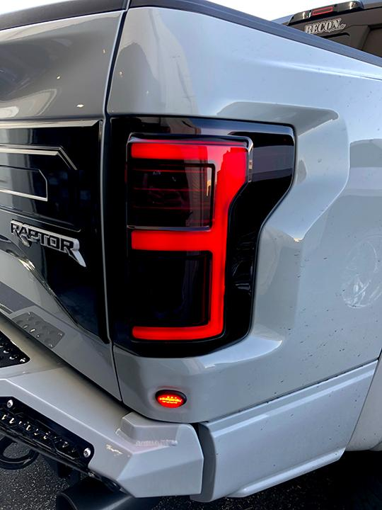 2017 Ford Raptor Engine >> Ford F150 Red Smoked Recon LED Tail Lights - Shop Here For ...
