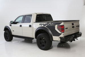Addictive Desert Designs 10-14 Ford F-150 Raptor Venom Rear Bumper w- Backup Sensor Cutouts