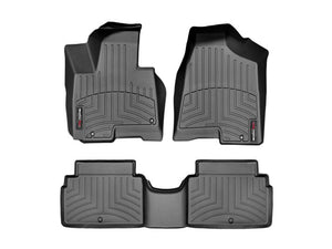 WeatherTech | 446451-442924 | Front and Rear Floor Liners for 2014 Hyundai Tucson Limited - Free Overngiht