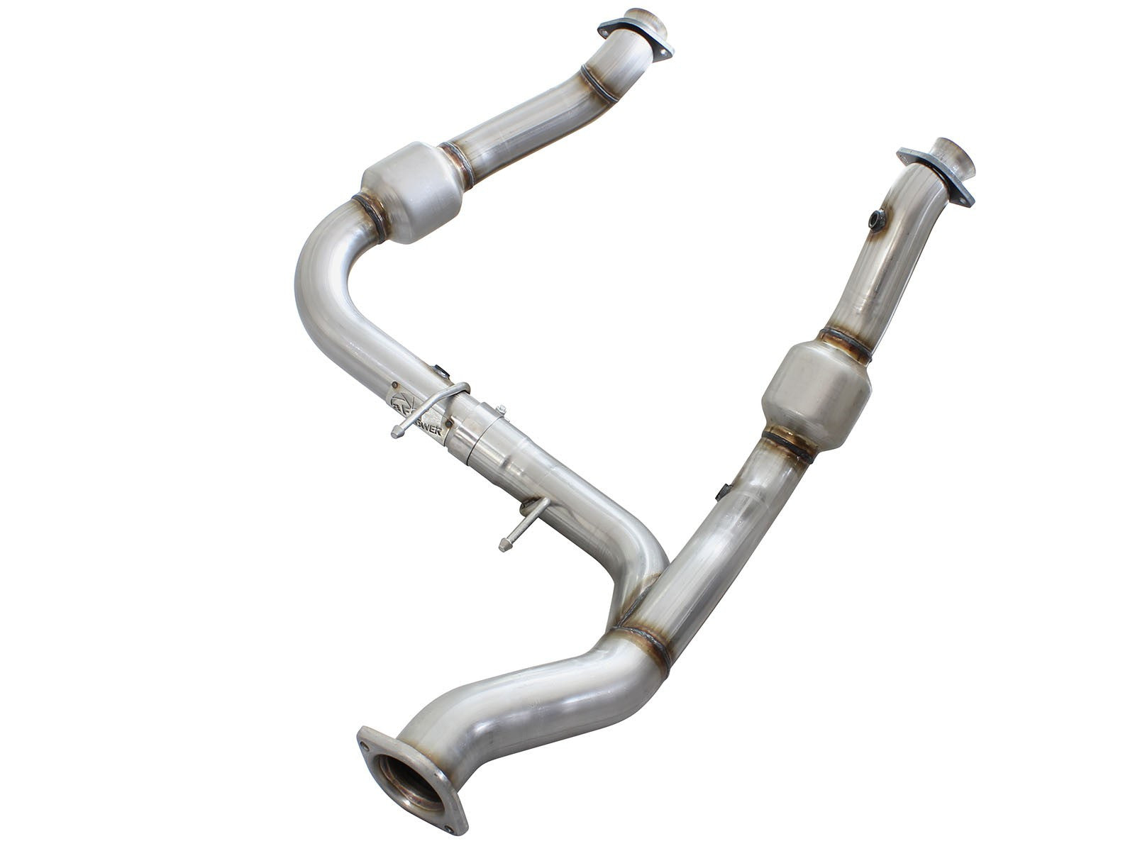 AFE | 48-43010 | MACH Force XP Catted Downpipes | Fits 2015