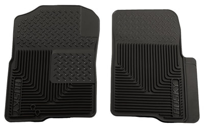 Husky 51231 Black Front Floor Liners Heavy Duty