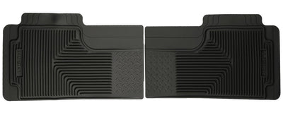 Huskey 52011 Black Rear Floor Liners Heavy Duty