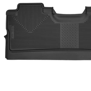 Husky | 53471 | X-Act 2ND Seat Liners For 2015-2017 F150 SuperCab and Super Crew (Footwell Coverage) - Free