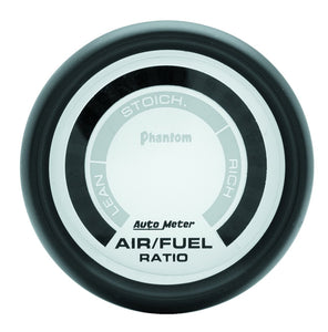 "Autometer | 5775 | Phantom Series 2 1/16"" Digital Narrowband Air/Fuel Gauge"
