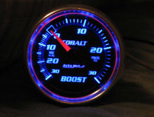 "Autometer | 6103 | Cobalt Series 2-1/16"" Boost/Vacuum Gauge 30 PSI"