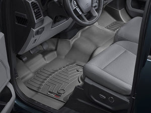 WeatherTech Front FloorLiners F-150 2015 SuperCab and SuperCrew with 1st Row Bench